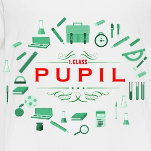 pupil_student_02201606 Kids' Shirts - Toddler Premium T-Shirt
