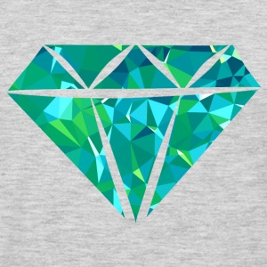 Diamond (Low Poly) Hoodies - Men's Premium Long Sleeve T-Shirt
