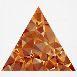 Triangle (Low Poly) Sportswear - Men's T-Shirt
