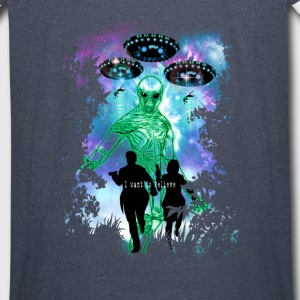 The X-Files Alien Invasion Hoodies - Vintage Sport T-Shirt