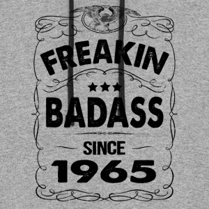 FREAKIN BADASS SINCE 1965 T-Shirts - Colorblock Hoodie