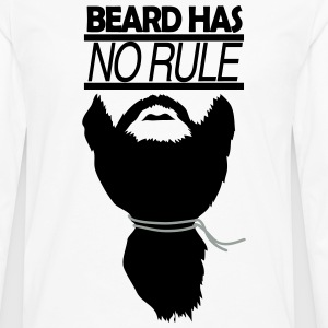 BEARD HAS NO RULE - Men's Premium Long Sleeve T-Shirt