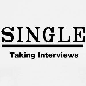 single taking interviews2 Tanks - Men's Premium T-Shirt