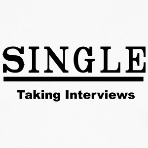 single taking interviews2 Tanks - Men's Premium Long Sleeve T-Shirt