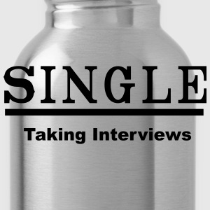 single taking interviews2 Tanks - Water Bottle