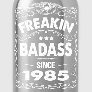 FREAKIN BADASS SINCE 1985 Hoodies - Water Bottle