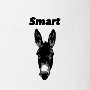 Smart Donkey Mug - Men's T-Shirt