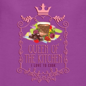 queen_of_the_kitchen_02201622 Baby Bodysuits - Women's Premium T-Shirt