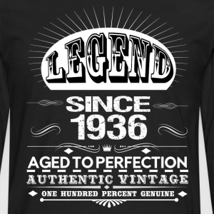 LEGEND SINCE 1936 Hoodies - Men's Premium Long Sleeve T-Shirt