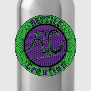 Reptile Creation Logo T-Shirts - Water Bottle