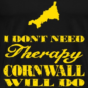 Don't need therapy/Cornwall Tanks - Men's Premium T-Shirt