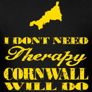 Don't need therapy/Cornwall Hoodies - Men's T-Shirt