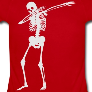 Dab Skeleton Kids' Shirts - Short Sleeve Baby Bodysuit