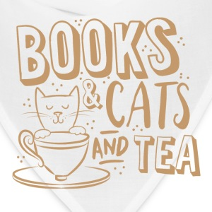 books and cats and tea Baby Bodysuits - Bandana