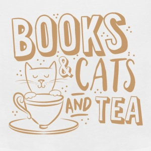 books and cats and tea Baby Bodysuits - Men's Premium Tank