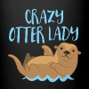 crazy otter lady Mugs & Drinkware - Full Color Mug