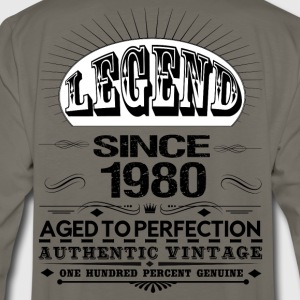 LEGEND SINCE 1980 T-Shirts - Men's Premium Long Sleeve T-Shirt