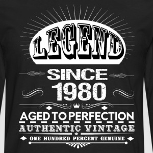 LEGEND SINCE 1980 Hoodies - Men's Premium Long Sleeve T-Shirt