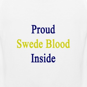 proud_swede_blood_inside T-Shirts - Men's Premium Tank