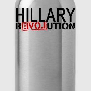 hillary_revolution_shirt_ - Water Bottle