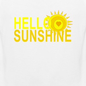 hello_sunshine - Men's Premium Tank