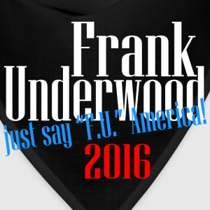 frank underwood T-Shirts - Bandana
