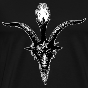 Eliphas Levi's Baphomet Head Hoodies - Men's Premium T-Shirt