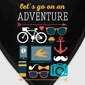 Let's go on an adventure Traveling T Shirt Women's T-Shirts - Bandana