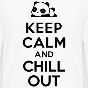 Keep calm Chill out T-Shirts - Men's Premium Long Sleeve T-Shirt