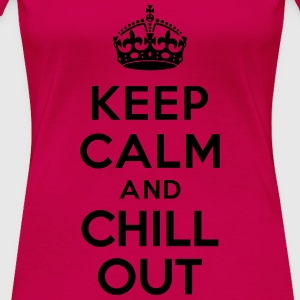 Keep calm and Chill out Tanks - Women's Premium T-Shirt