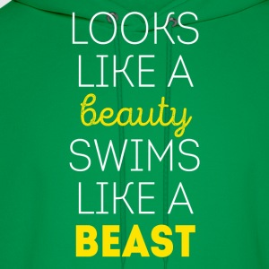 Swims like a beast Swimming T Shirt Women's T-Shirts - Men's Hoodie