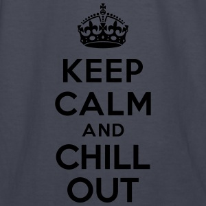 Keep calm and Chill out Hoodies - Kids' Long Sleeve T-Shirt