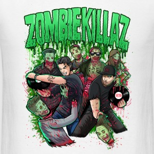 ZombieKillaz zombie attack NEW green PNG.png Sportswear - Men's T-Shirt