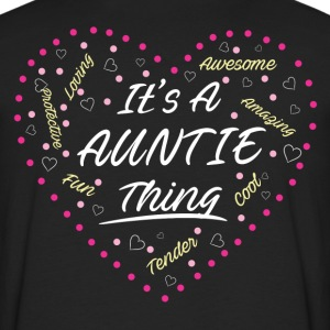 IT'S A AUNTIE THING Women's T-Shirts - Men's Premium Long Sleeve T-Shirt