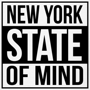 new york state of mind Hoodies - Men's T-Shirt
