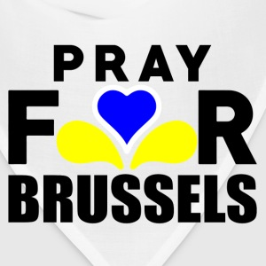 Pray For Brussels Women's T-Shirts - Bandana