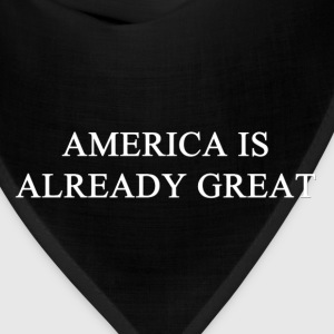 America Already Great Women's T-Shirts - Bandana