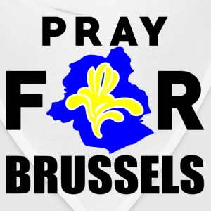 Pray For Brussels T-Shirts - Bandana