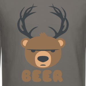 DEER BEAR BEER T-Shirts - Crewneck Sweatshirt
