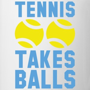 Tennis Takes Balls - Coffee/Tea Mug
