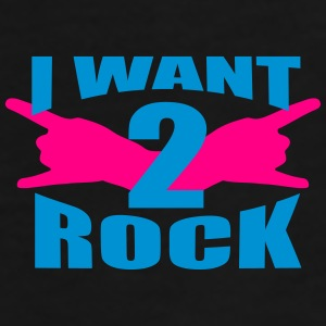 i want 2 rock - Men's Premium T-Shirt