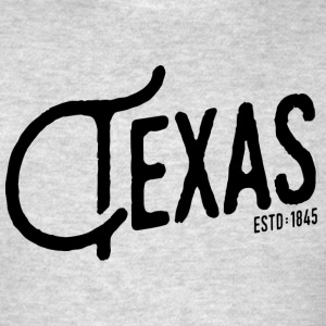 Texas Script - Men's T-Shirt