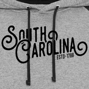 South Carolina Script - Colorblock Hoodie