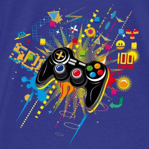 Gamepad Video Games Bags & backpacks - Men's Premium T-Shirt