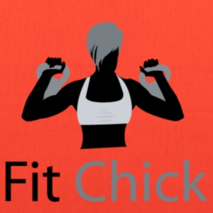 Fit Chick T-shirt - Tote Bag