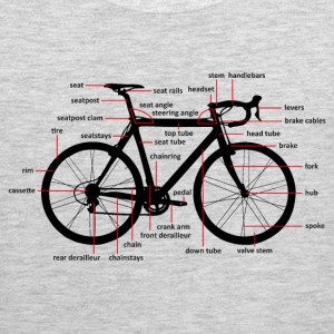 bicycle parts T-Shirts - Men's Premium Tank