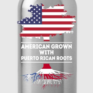American grown with Puerto Rican roots T Shirt Women's T-Shirts - Water Bottle