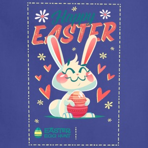 happy easter poster 231 - Adjustable Apron
