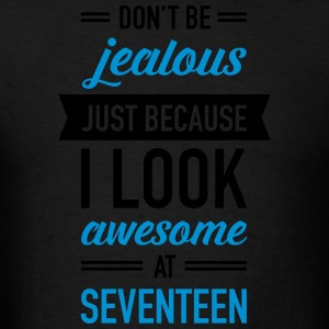 Awesome At Seventeen Hoodies - Men's T-Shirt