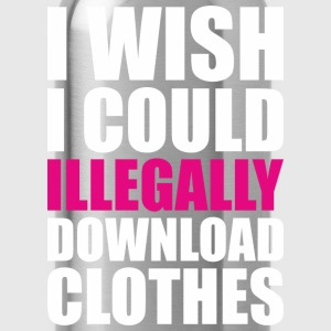 Illegally Download Clothes - Water Bottle